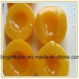 Персики Китая свежие желтые законсервированные в чонсервных банках