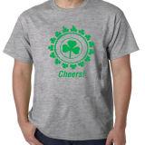 T-shirt de van uitstekende kwaliteit van de Douane van de Druk van het Ontwerp van de Douane