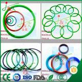 EPDM, FKM, gomma di silicone, colore giallo, verde, Brown, giunto circolare nero