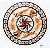 Bloem die Marmeren Mozaïek snijden (msk-004)