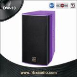 Dw-10 Single 10 Inches 2-Way Audio DJ System