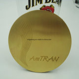 Coaster de bronze por atacado da esteira do copo com bandeja de EVA