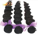 Человеческие волосы 100% Remy девственницы свободной глубокой волны надкожицы малайзийские