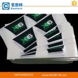 Etiquetas adhesivas impresas aduana material impermeable del vinilo para las botellas del aerosol