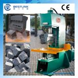 C Frame Open Type Hydraulic Stone Splitting Machine mit Floating Chisel Blades