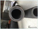 Excellent boyau en caoutchouc de sablage de fil d'acier de qualité