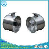 Ventilador de la circulación del invernadero del acero inoxidable