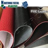 Cuir synthétique de PVC de qualité pour le sac de femme de bagage