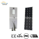 Jardim energy-saving Light Optical Lens 90W Solar Street Light de Line Solar Light Integrated Solar do jardim