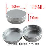25ml Kruik van de Room van het aluminium de Kosmetische (NAL0102)