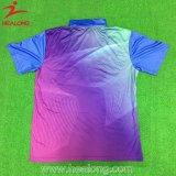 Healong Entwerfer ganz über Sublimation-ursprünglichem Polo-T-Shirt