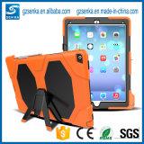 Caja protectora del silicón de PC+Soft para el aire del iPad, para el caso del protector del iPad Air2 de Apple