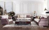 Комплект софы ткани самомоднейшей шикарной живущий мебели комнаты секционный