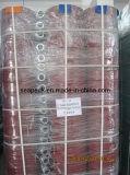Tuyau Layflat PVC Avec la couleur rouge