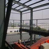 Oficina pesada Three-Storey da construção de aço para o uso químico