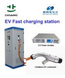 CHAdeMO y CCS DC vehículo eléctrico de estación