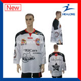 Hockey sur glace chaud d'équipe de ligue de sublimation de vente de Healong Jersey