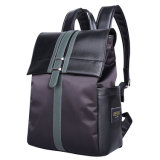 Handbeutel der Form-Freizeit-Dame-Microfiber Black Backpack