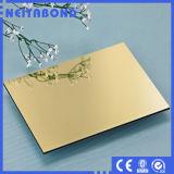 Panneau composé en aluminium lustré de bonne qualité pour le panneau de mur intérieur
