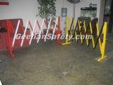 Barreira de cerco provisória do PVC do controle de multidão da construção retrátil