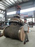 Válvula de porta operada engrenagem do aço de molde Dn700 do RUÍDO Pn25