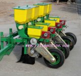 Plantador do milho com fileiras diferentes