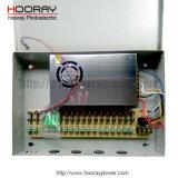 18CH AC DC 12V 15A 20A 30A 18 채널 통신로 금속 상자 CCTV 사진기 엇바꾸기 전력 공급
