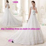 Neue Ankunfts-Form-Nizza Kleid-Kleid-Hochzeit mit wulstigem