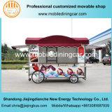 Camion électrique mobile de nourriture de la langoustine 2017 populaire avec le modèle neuf
