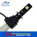 8-32V farol do automóvel do diodo emissor de luz da C.C. 20W 2600lm H7 6500k