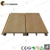 Het houten Plastiek Gerecycleerde Comité van de Muur van de Teak