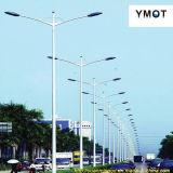 De geïntegreerdej 10m LEIDENE ZonneVerlichting van de Straat met Dubbele Wapens