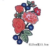 Laço popular do bordado da correção de programa da flor para acessórios