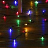 100 LED-multi farbiger Solargarten-Licht-Programmfehler mit UL