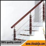 Edelstahl-Balkon-Glashandlauf für Jobstepp