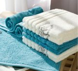 安いカスタマイズされた表面タオル圧縮されたタオル