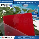 Folha plástica do acrílico da placa da cor acrílica PMMA da folha