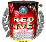 """1.2 """" أحمر, بيضاء, اللون الأزرق في كلّ مكان 49 طلقة خردق قالب لعبة ناريّة"""
