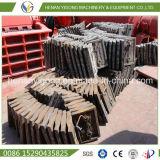Doublure d'aciérie de pièces de rechange de broyeur à boulets