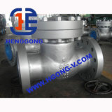 API/DIN Wasser-Öl Wcb Schwingen-Flansch-Kohlenstoffstahl-Rückschlagventil