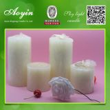 Pupular por atacado 3X3 Scented Colorful Pillar Candle para Party