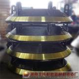 La trituradora parte la capa del trazador de líneas del tazón de fuente de los recambios de la trituradora del cono del bastidor cóncava