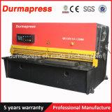 QC12y-4 * 2500 Hidráulica Swing Plate CNC Shearing Cutting Machine Preço
