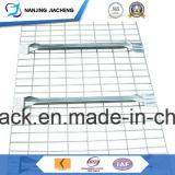 Decking ячеистой сети хранения пакгауза цинка для луча шага