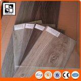 Plancher de vinyle de PVC de cliquetis de la surface 5mm de Handscraped Eir avec la fibre de verre