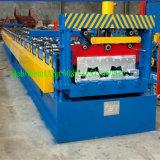 Galvanisiertes Fußbodendecking-Rollenmetall, das Maschine bildet