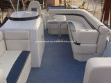 高品質のアルミニウムポンツーンのボート
