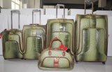 PU Luggage Trolley Fall Suitcase Trolley Bag 02jb001