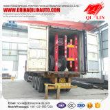 Double remorque de conteneur des essieux 20FT avec des blocages de torsion