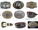 Fashion Zinc Alloy Western Cowboy Boucle de ceinture en vrac Boucle d'homme Boucle de rouleau Western Buckle